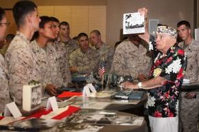 Pearl Harbor survivor tellsstory
