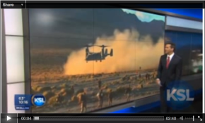 KSL 5 TV: St. George becomes good fit for Afghanistan-like training for Marines