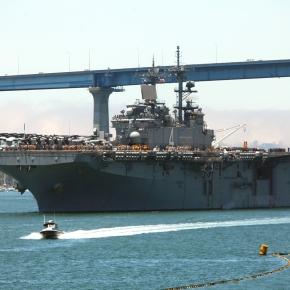 USS Boxer crosses Coronado Bridge, concludesPMINT
