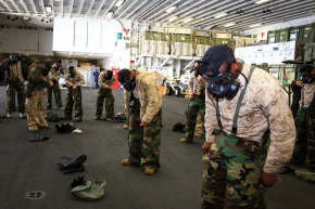 CLB-13 conducts MOPP training